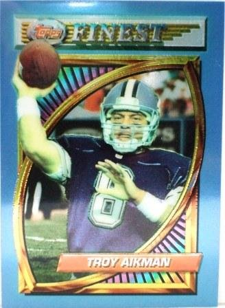 1994 Troy Aikman Topps Finest Card # 202