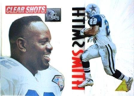 1995 - Emmitt Smith - Pinnacle - Clear Shots - #5 of 10