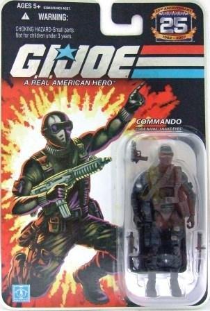 2008 - Snake Eyes - Commando - G.I. JOE - 25th Anniversary - Wave 3