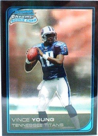 2006 - Vince Young - Topps - Bowman - Chrome - NFL Football - Rookie Card - #221