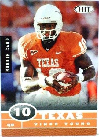 2006 - Vince Young - Sage - Hit - Collegiate Football - Rookie Card - #2/5