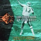 1995 Upper Deck SP NFL Football Card Set #1 -200