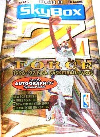 1996-97 Skybox Z Force NBA Basketball Card Set Series II #101 - 200