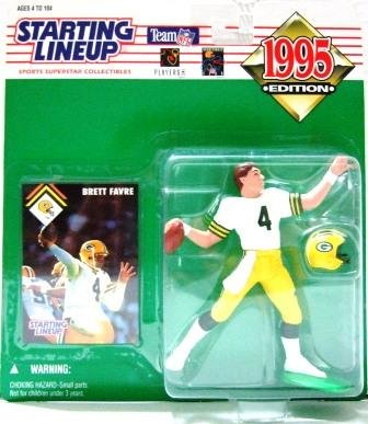 1995 - Brett Favre - Action Figures - Starting Lineups - Football - Packers
