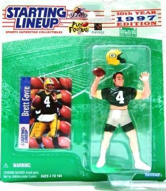 1997 - Brett Favre - Action Figures - Starting Lineups - Football - Packers