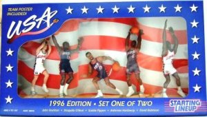 1996 - USA Dream Team III  - Action Figures - Starting Lineups - Basketball - Set 1