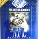 1997  Donruss Leaf Signature Edition NFL Football Autographed Card