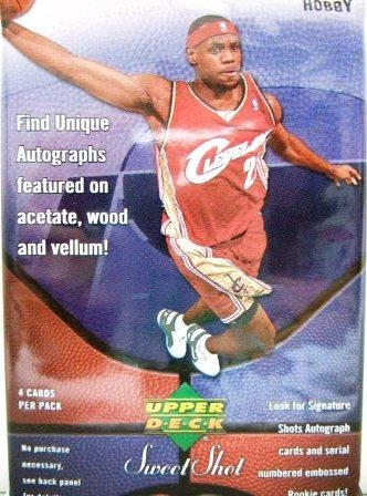 2005-06 Upper Deck Sweet Shot NBA Basketball Sports CardHobby Pack