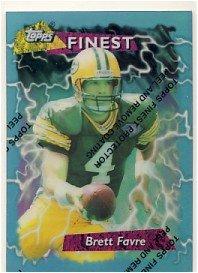 1995 - Brett Favre - Topps - Finest - Refractor - #56