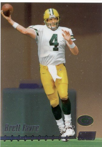1999  Brett Favre Topps Stadium Club  Chrome C7