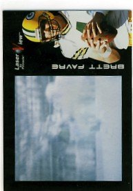 1996 - Brett Favre - Pinnacle - Laser View - #7
