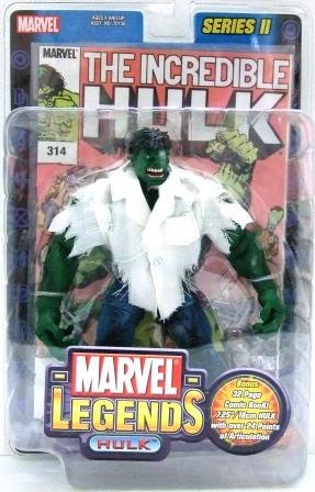 2002 - Incredible Hulk - Torn Shirt- Action Figures - Toy Biz - Marvel Legends
