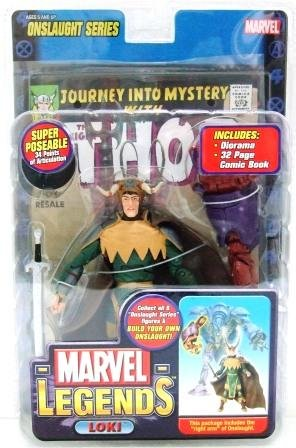 2006 - Loki (Variant) - Action Figures - Toy Biz - Marvel Legends