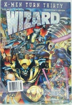 1993  Wizard - X-Men Turn Thirty - Collector's Edition - Comic Guide