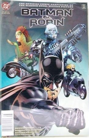 1997 - DC - Batman & Robin - Motion Picture - Comic Book