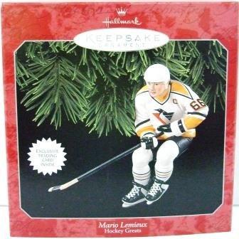 1998 - Mario Lemieux - Hallmark - Hockey Greats - Keepsake - Ornament - 2nd in Series