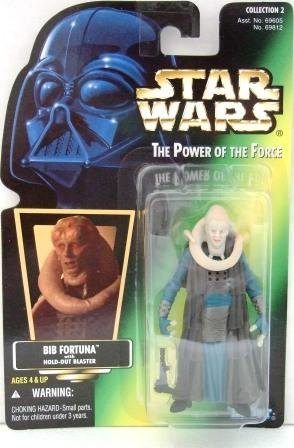 1997 - Bib Fortuna - Star Wars - The Power of the Force - Green Card - Hologram