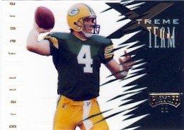 1996 - Brett Favre - Playoff - Extreme Team - Card # XT 05 of 30