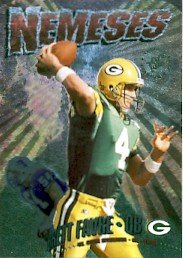 1995 - Brett Favre - Topps - Stadium Club - Nemesis - #4 of 15