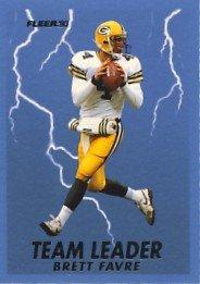 1993 - Brett Favre - Fleer - Team Leader - #1 of 5