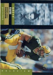 1995 - Brett Favre - Upper Deck - SP - Holoview - #36/40