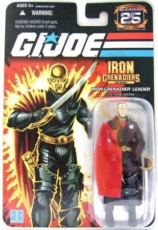 2008 - Destro - Iron Grenadier Leader - G.I. JOE - 25th Anniversary - Wave 4