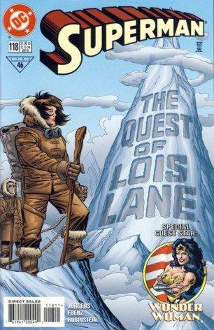 1996 - DC Comics - Superman  - The Quest of Lois Lane - #118