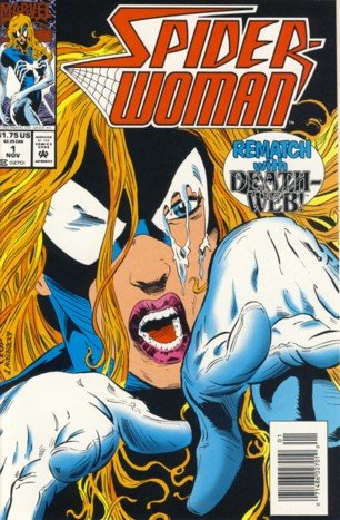 1993 - Marvel - Spider-Woman - Rematch with Death Web - Vol. 2, No. 1