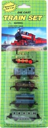 Die-Cast Train Set