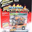 2005 - Orange '69 Shelby GT-500 Convertible - Street Freaks - Johnny Lightning - Die-cast Metal Cars