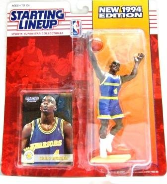 1994 - Chris Webber - Action Figures - Starting Lineups - Basketball - Warriors - Rookie Slu