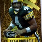 1996 - Brett Favre - Pinnacle - Team Pinnacle - Brett Favre/John Elway - #3 of 10