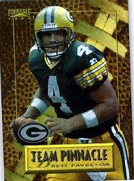 1996 - Brett Favre - Pinnacle - Team Pinnacle - Brett Favre/John Elway - #3 of 10