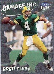 1999 - Brett Favre - Fleer Ultra - Damage Inc. - #1 of 15 DI