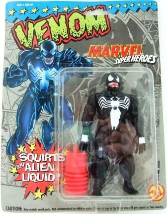 1993 - Venom - Action Figures - Toy Biz - Marvel Super Heroes - Squirts Alien Liquid