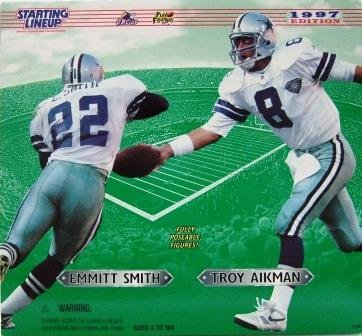 """1997 - Aikman/Smith - Kenner - Starting Lineup - 12"""" Specials"""