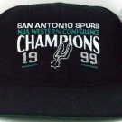 1999 - San Antonio - Spurs - NBA - Western Conference - Champions - Black - Basketball - Cap