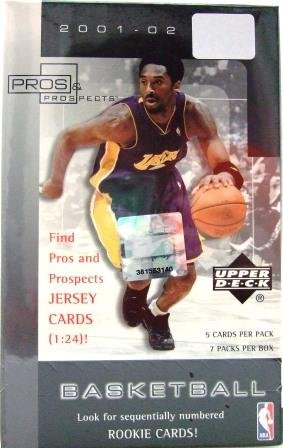 2001/02 - Upper Deck - Pros & Prospects - NBA Basketball - Sports Cards