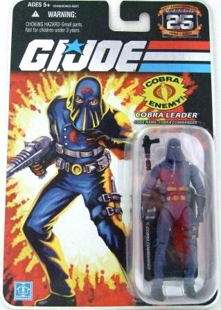 2008 - Cobra Leader - Cobra Enemy - G.I. JOE - 25th Anniversary - Wave 1