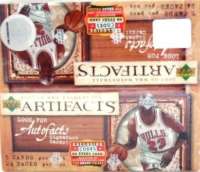 2007/08 - Upper Deck - Artifacts - NBA Basketball - Sports Cards
