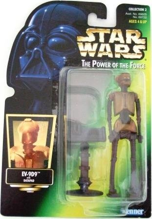 1997 - EV-9D9 - Star Wars - The Power of the Force - Green Card - Hologram