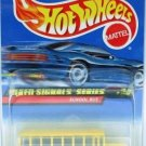 1997 - Hot Wheels - School Bus - Mixed Signals Series - Collector #736