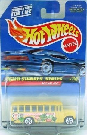 1997 - Hot Wheels - School Bus - Mixed Signals Series - Collector #736