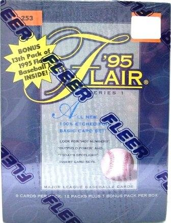 1995 - Fleer - Flair - Baseball - Series I