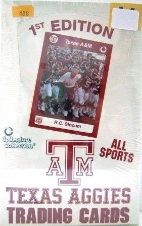1st Edition - ATM Texas Aggies - All Time Greats - Collegiate Collection - Trading Cards