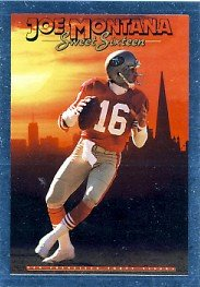 1992 - Joe Montana - SkyBox - PrimeTime - Card # MO6 of 15