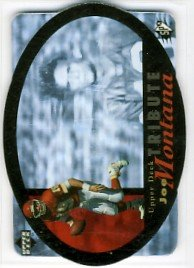 1996 - Joe Montana - Upper Deck - SPX - Tribute Card - # UDT-19