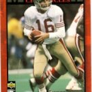 1995 - Joe Montana - Upper Deck - Collector's Choice - Card #JM8