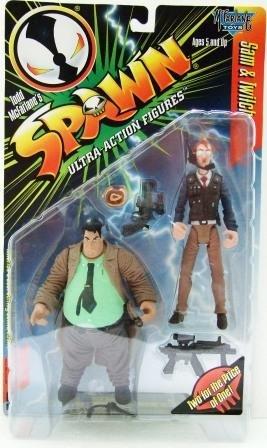 1997 - Sam & Twitch - McFarlane Toys - Spawn - Series 7 - Toy Action Figure