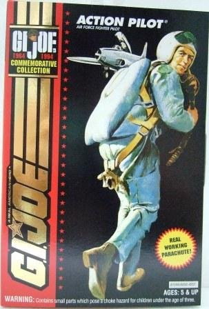 1964-1994 - Action Pilot - Hasbro Toy - G.I. Joe - 30th Salute - Commemorative Collection